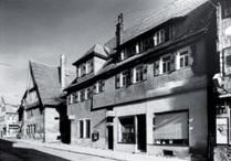 Strohstraße 1, 1950er-Jahre, Stadtarchiv Nürtingen (StANT Nr. 118.), alle Rechte vorbehalten!