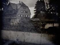Zufluchtshaus bzw. Fürsorgeheim Oberensingen 1932 von Osten, Privatarchiv Werner Föhl. mit freundlicher Genehmigung