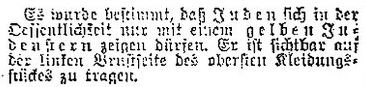 Meldung im Nürtinger Tagblatt vom 15. September 1941, aus WERNER 1998, S. 45