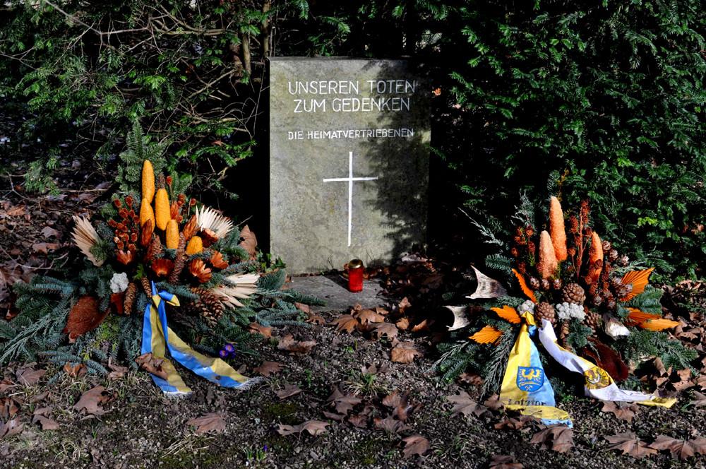 """Gedenkmal für die Toten der """"Heimatvertriebenen"""", 08.03.2013, Foto: Manuel Werner"""
