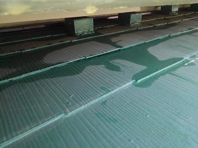 尼崎市 屋根の雨漏り写真