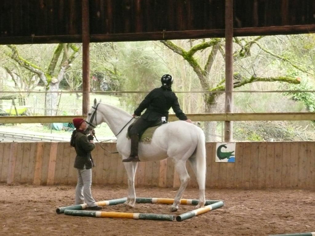 et on caresse la croupe de son cheval