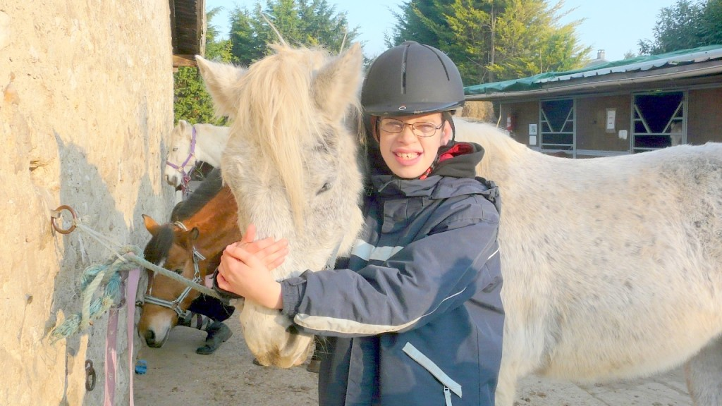 Wifried et son poney Enzo