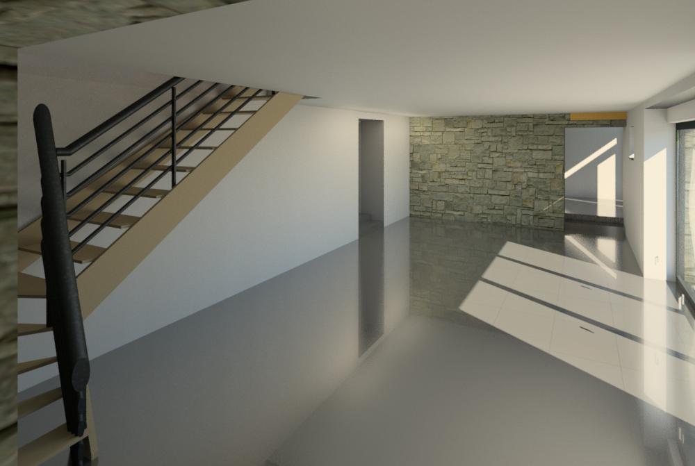 Rénovation à Le Mesnil Ozenne (50)
