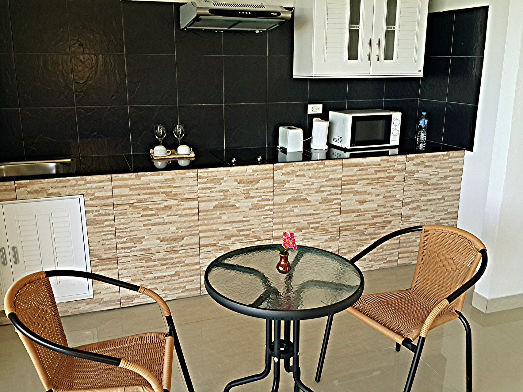kitchen, Villa Naak