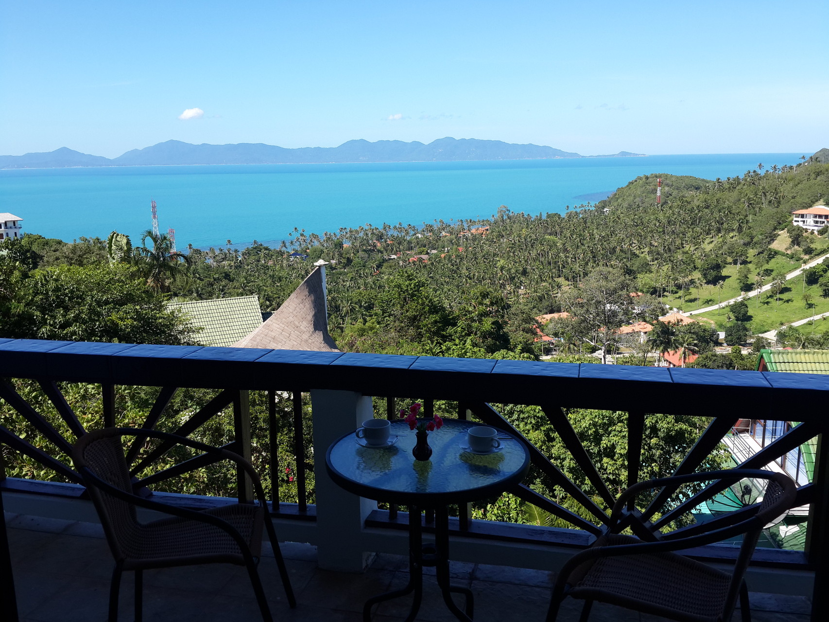 terrace sea view, Villa Naak