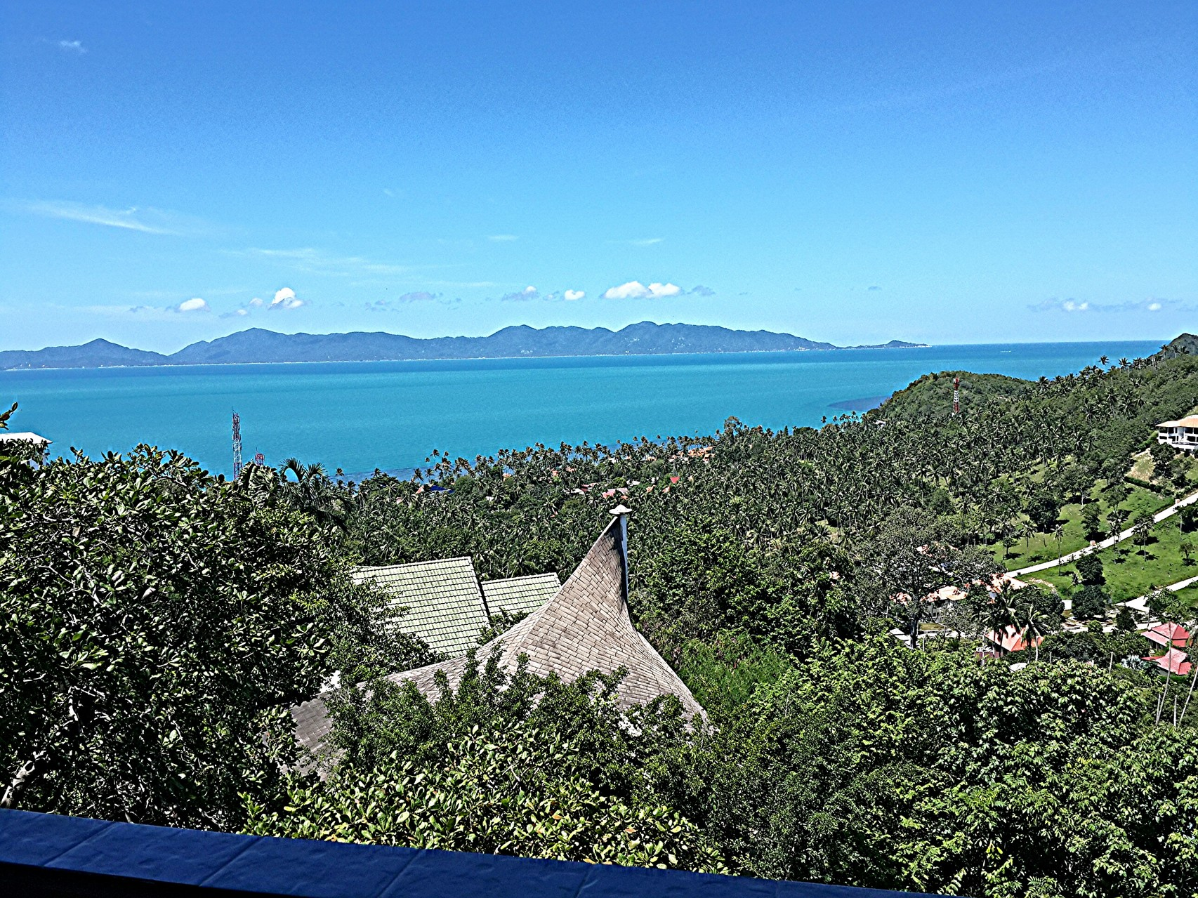 ocean view to Koh Phangan, Villa Naak