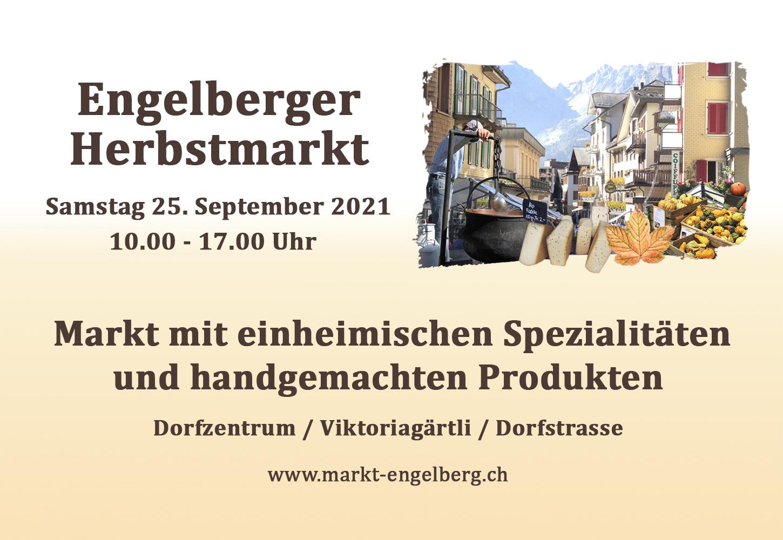 Herbstmarkt 25.September 2021
