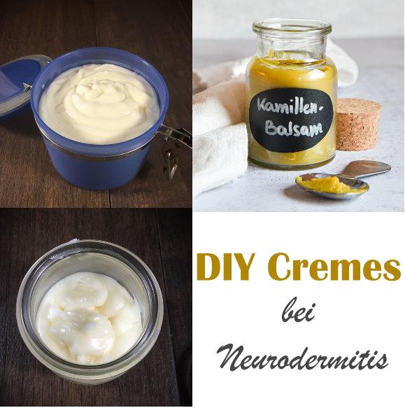 Pflegender Balsam mit Kamille, reichhaltige Nachtcreme, Basis Bodylotion  für trockene Haut und bei Neurodermitis, Thermomix