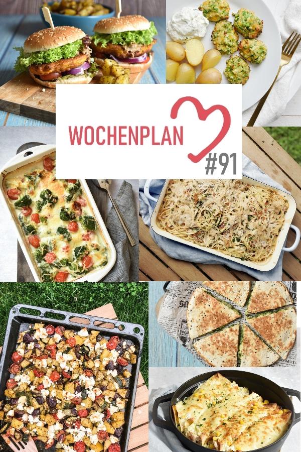 Was soll es die Woche bloß zu essen geben? Ich habe dir hier eine ganze Woche an leckeren Rezepten zusammengestellt - du kannst sie alle vegan oder vegetarisch kochen - der mix dich glücklich Wochenplan für den Thermomix - Nummer 91