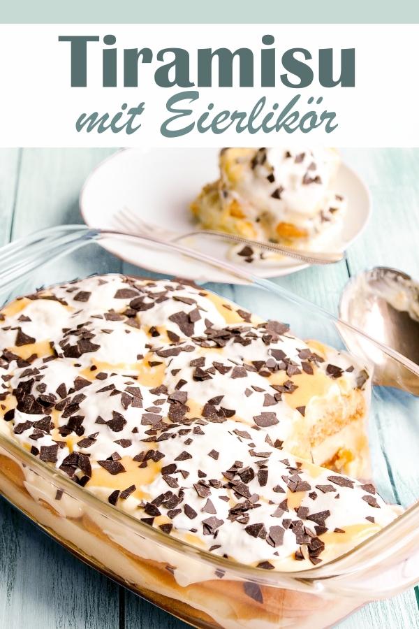 Tiramisu mit Eierlikör dieses Jahr das Dessert zu Ostern, so lecker, vegan möglich, z.B. Thermomix