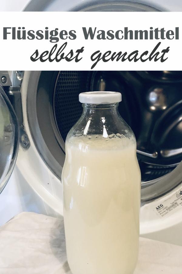 Anders als alle anderen DIY-Flüssigwaschmittel - Konsistenz und Funktion wie reguläres Flüssigwaschmittel, gemacht aus Zuckertensid und Castile Soap, mit Wäscheduft nach Wunsch, selbst gemacht, z.B. im Thermomix