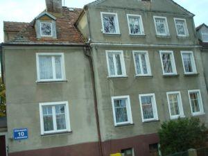 Elternhaus von Angela in Stolp