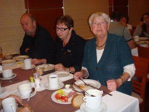 Frühstück Annelene, Marga und Günter