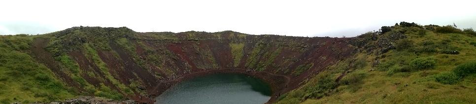Kerið Krater Panorama