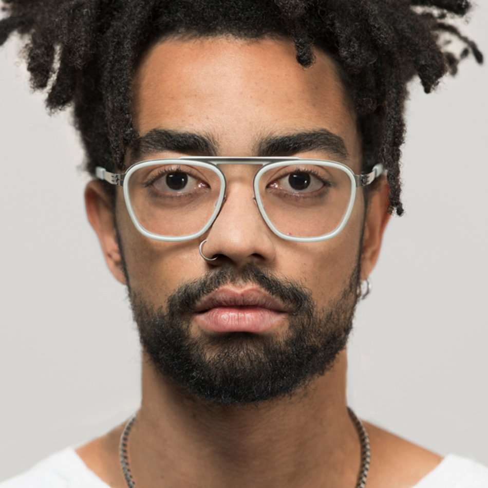 Schraubenlose Brille von ic berlin Modell Broadway