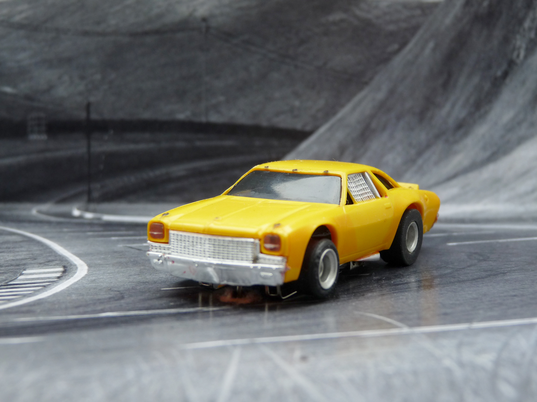 AURORA AFX Chevelle Stocker gelb