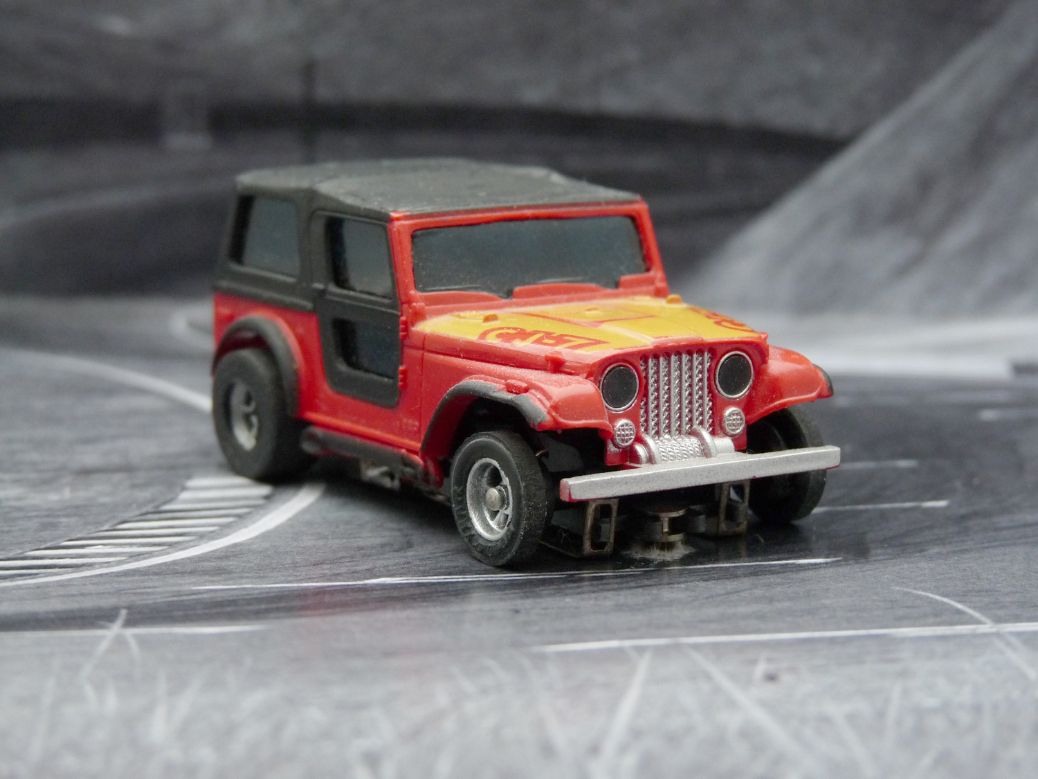AURORA AFX Jeep CJ-7