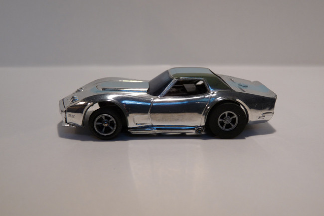 "Corvette ""A"" Produktion chrome/hellblau #1927"