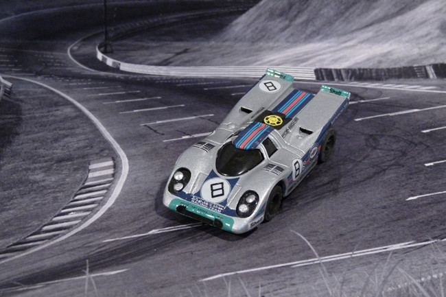Porsche 917k Martini Racing Team - Brands Hatch 1000 KM - April 1971