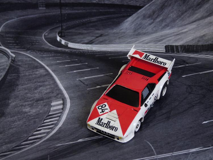 BMW M1 Marlboro #84, Le Mans 1980