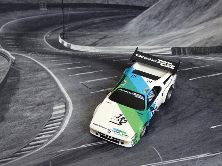 BMW M1 Vogelsang #152, 24h Le Mans 1985