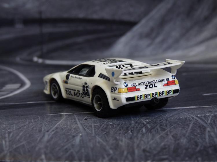 BMW M1 ZOL AUTO BMW #95, 24h Le Mans 1980