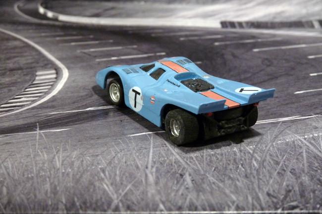 Porsche 917k TEAM GULF JOHN WYER AUTOMOTIVE Training Car - Sebring 1970