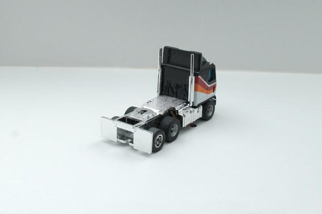 AURORA AFX GMC Astro 95 Cab Truck schwarz/weiß/orange/rot