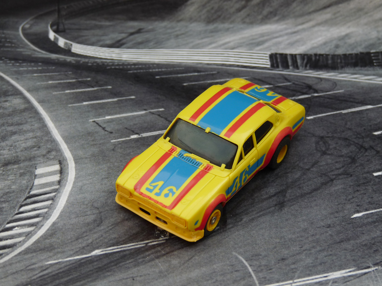 AURORA AFX Ford Escort gelb/blau/rot #46