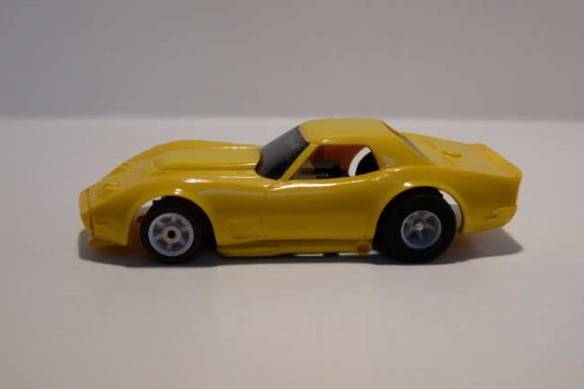 "AURORA AFX Corvette ""A"" Produktion gelb #1927"