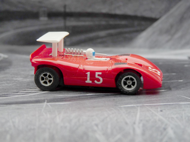 AURORA AFX Ferrari Can Am 612