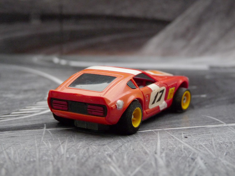 AURORA AFX G-Plus Datsun Z240 rot / orange /weiß