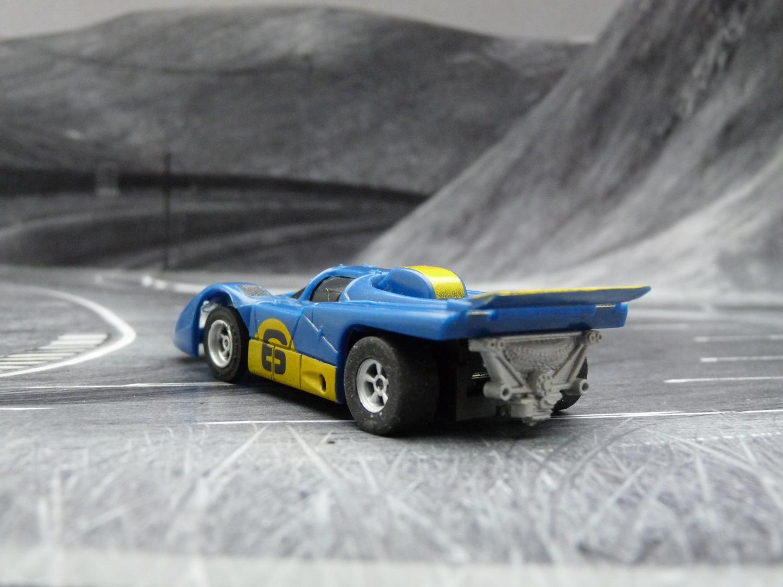 AURORA AFX Ferrari 512M dunkelblau/gelb #6