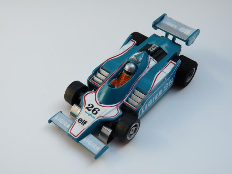AURORA AFX G-Plus Ligier F1 #26 petrol