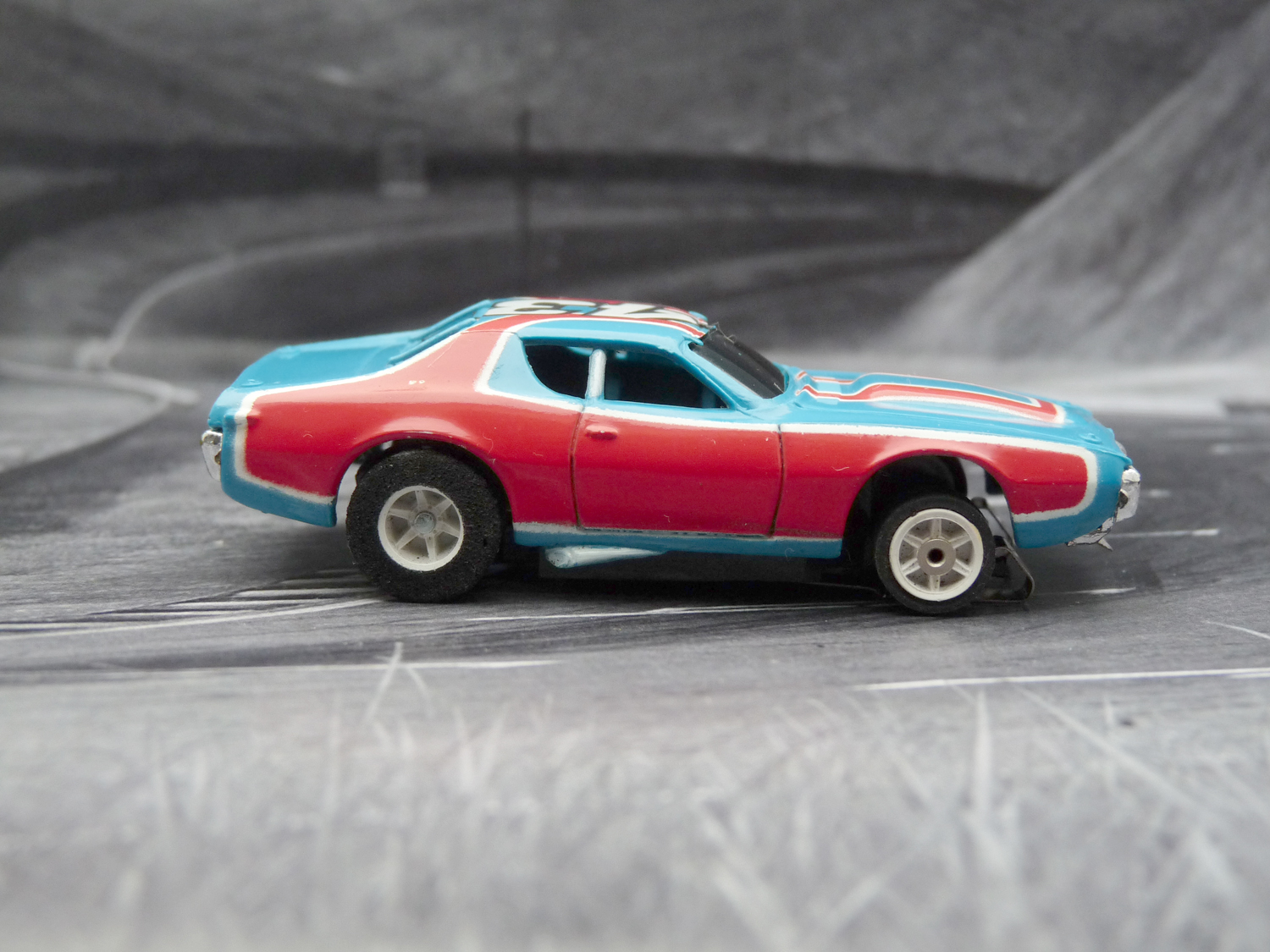 "AURORA AFX Dodge Charger Stock Car ""Richard Petty"""