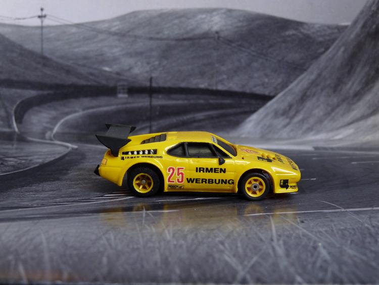 BMW M1 DRM, Team IRMEN WERBUNG #25, Nürburgring 1980