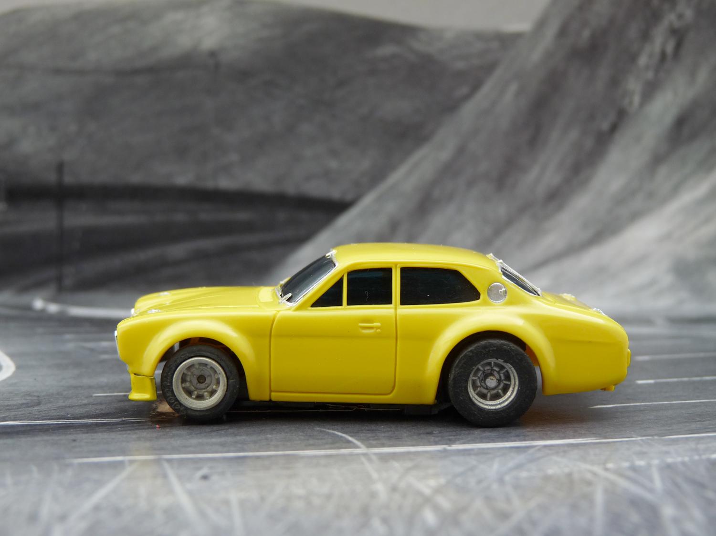 AURORA AFX Ford Escort gelb Prototyp