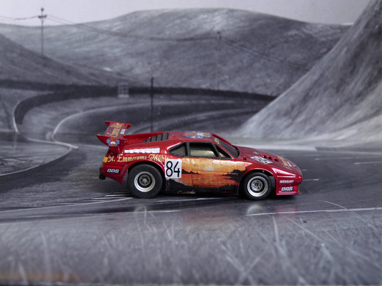 BMW M1 DRM St. Emmerams Mühle #84, Norisring 1981