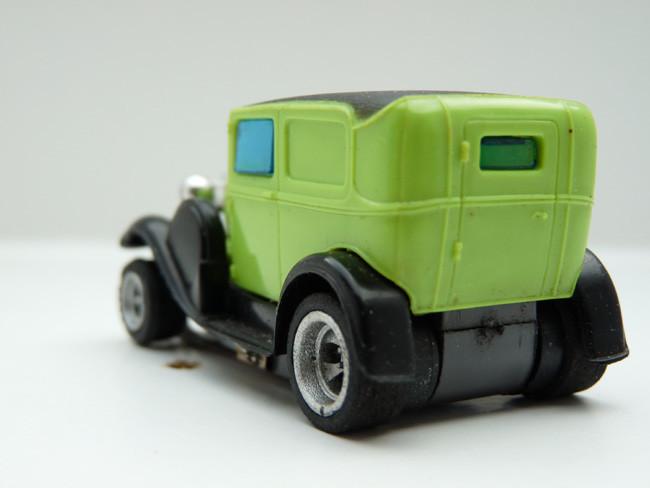 """AURORA AFX Ford Panel Model """"A"""" grün / schwarz #1791"""
