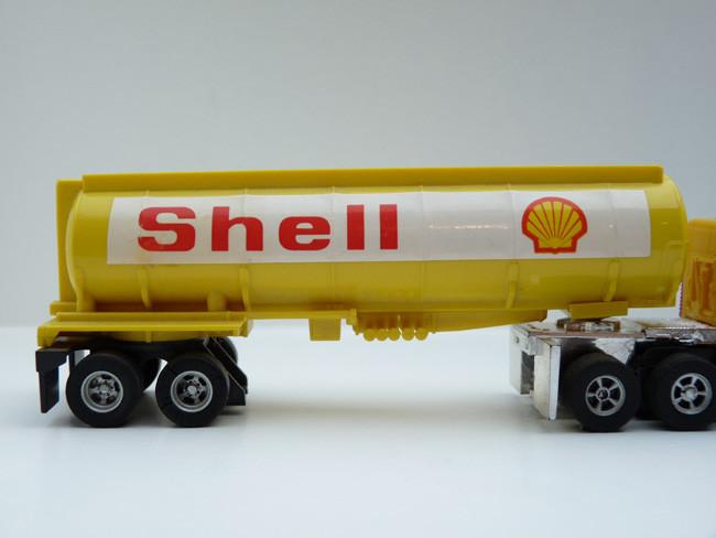 AURORA AFX Shell Tank-Auflieger gelb