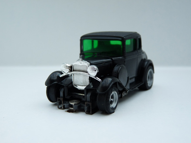 "AURORA AFX 1930 Ford Coupe Model ""A"" schwarz #1928"