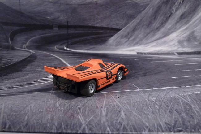 Porsche 917k FunCar orange mit schwarzen Streifen #33