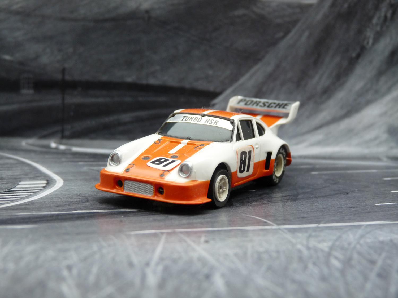 AURORA AFX Porsche 934 RSR weiß  / orange #81