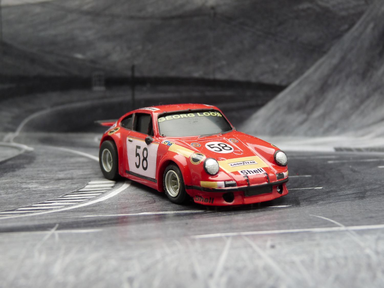 AURORA AFX Porsche 934 RSR, Georg Loos #58 LeMans 1978
