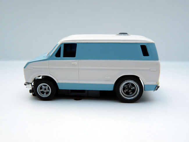 AURORA AFX Ford Street Van weiß / blau #1943