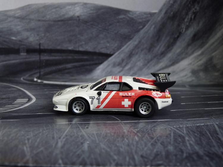 BMW M1 ProCar Team Schweiz #71, Zandervoort 1979