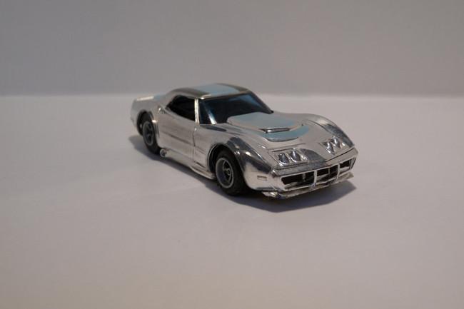 """Corvette """"A"""" Produktion chrome/hellblau #1927"""