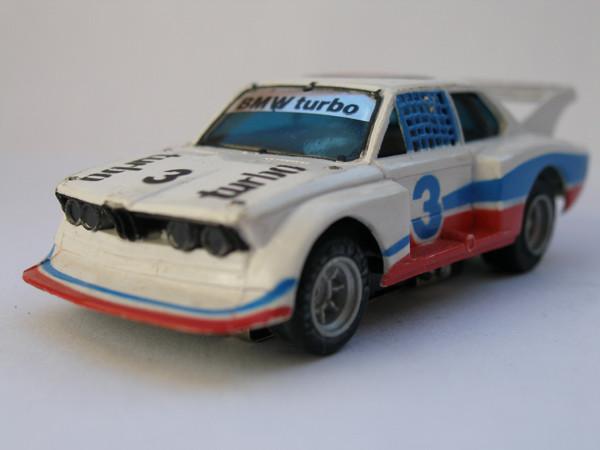 AURORA AFX BMW 320 Turbo weiß/blau/rot