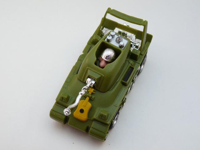 AURORA AFX Peace Tank olive / gelb #1782